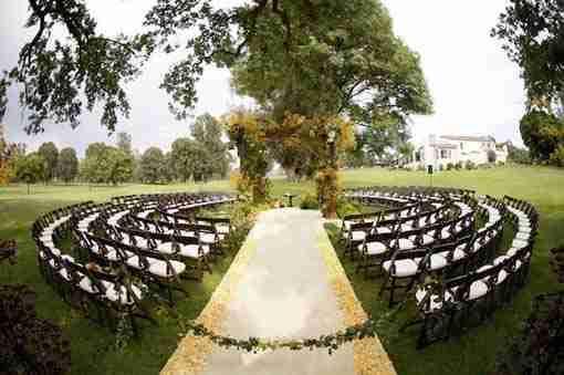 夏季户外婚礼的想法