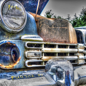 Rust in peace by Seth Brown - Transportation Automobiles ( car, studebaker, old, scrap, rust, classic )