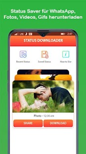 Statusschoner für WhatsApp & Status Downloader Screenshot