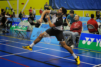 Photo: Andrew D'Souza in semifinal action