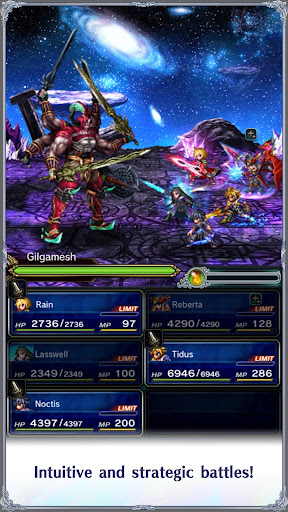 FINAL FANTASY BRAVE EXVIUS screenshot 13
