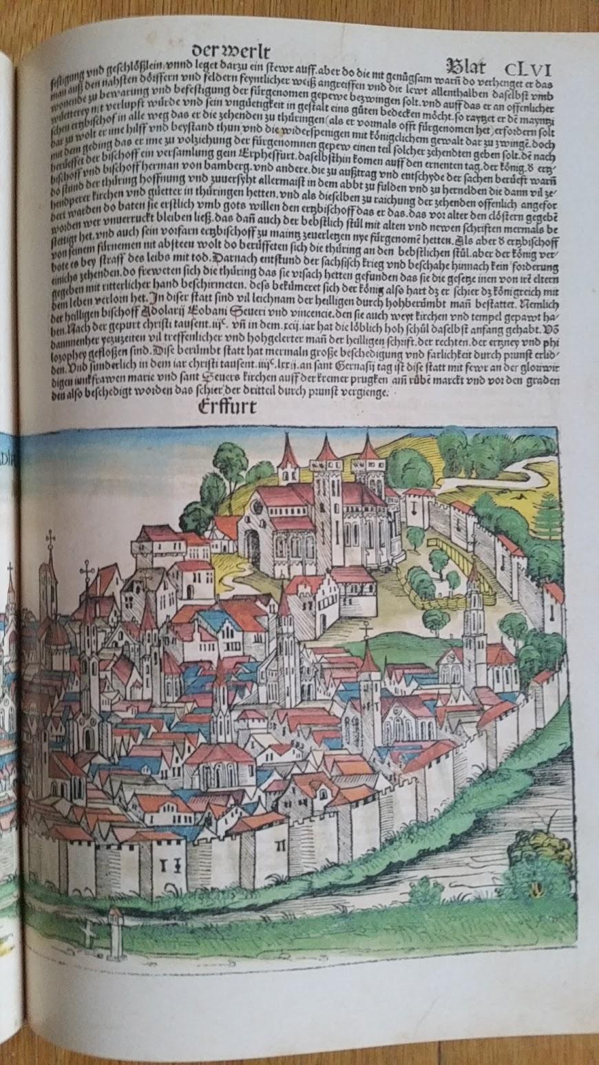 Hartmann Schedel - Weltchronik 1493 - Erfurt
