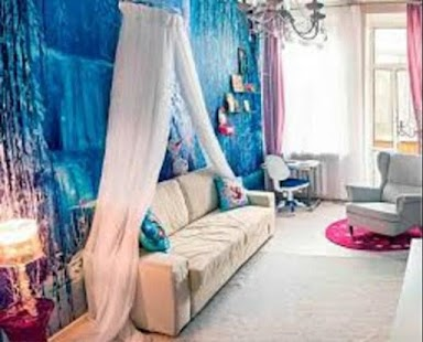 Ice Princess Bedroom Design Ideas - náhled