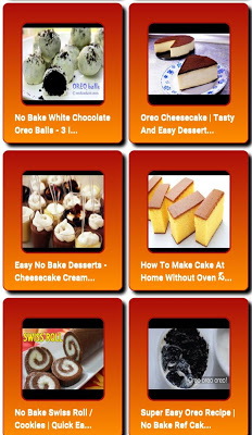 Easy desserts without Oven - screenshot