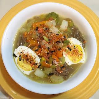 15 Minute Soba Noodle Soup.
