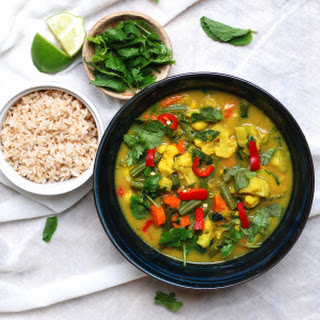 Coconut Mint Curry