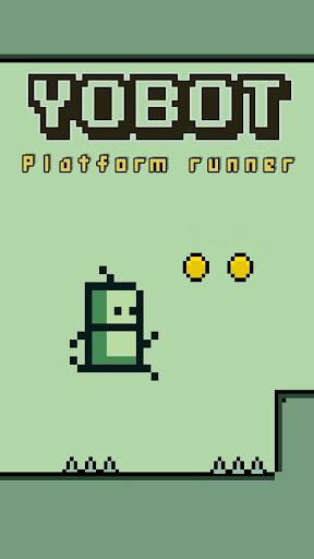 Yobot Run - Platform Hardest Running fun game