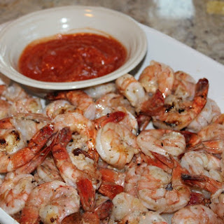 Simply Grilled Shrimp