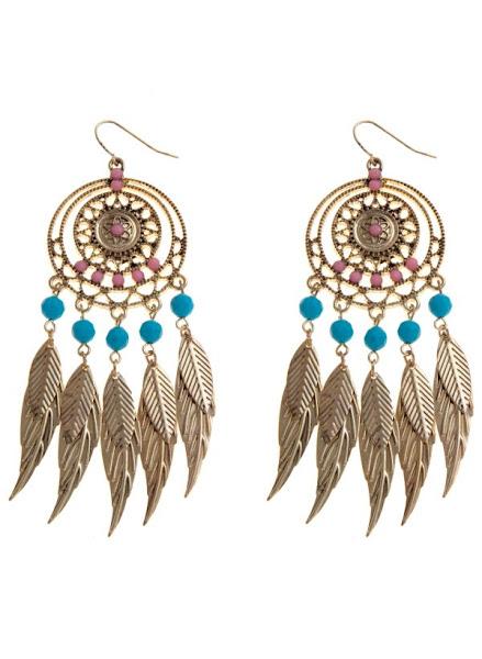 Photo: Metal Feather Chandelier Earrings £5.99 Buy 1 Get 1 Free http://bit.ly/KDwWGu