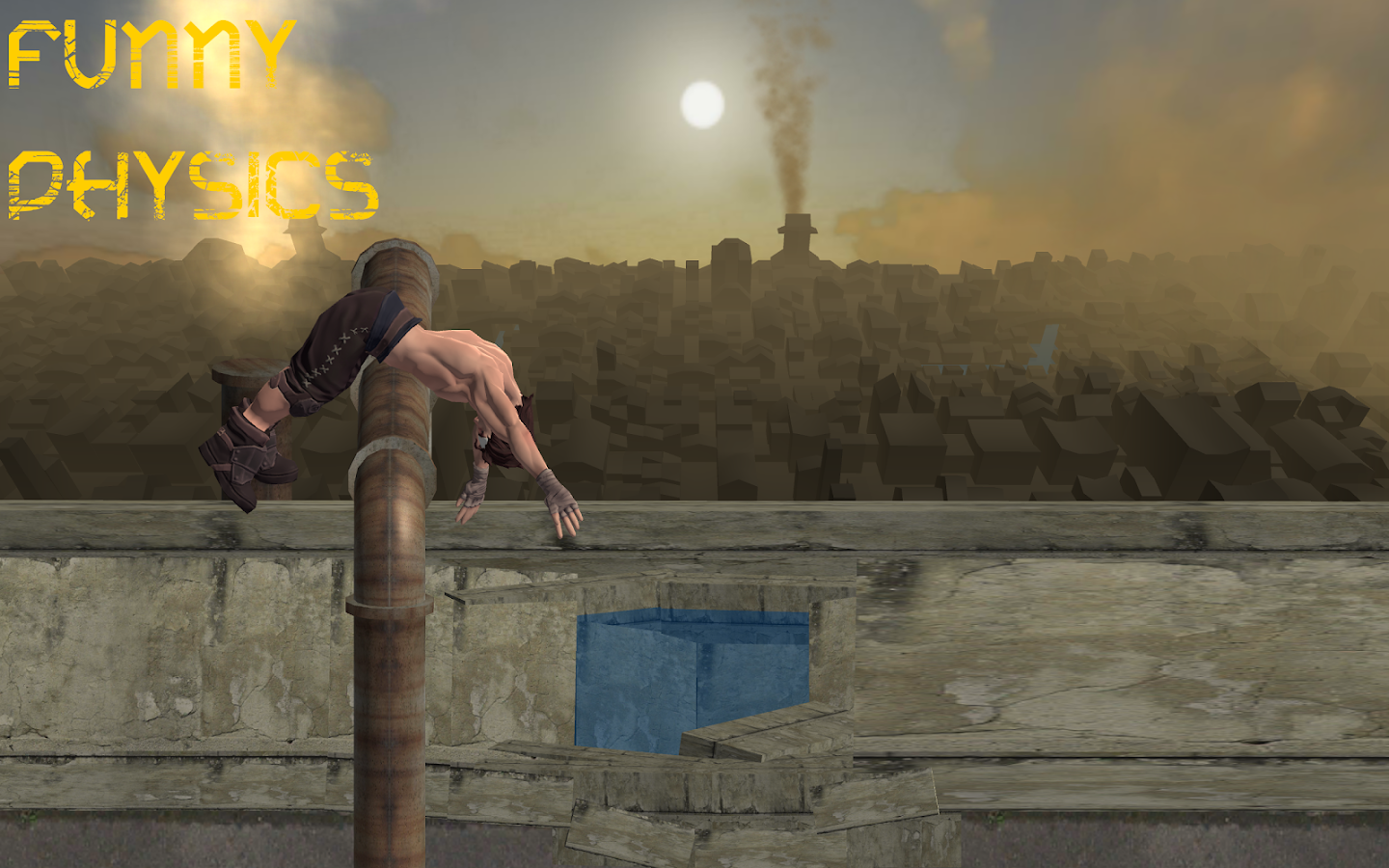PARKOUR- screenshot