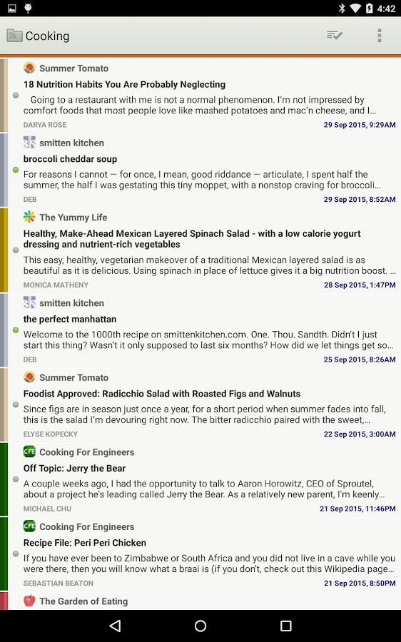 NewsBlur- screenshot