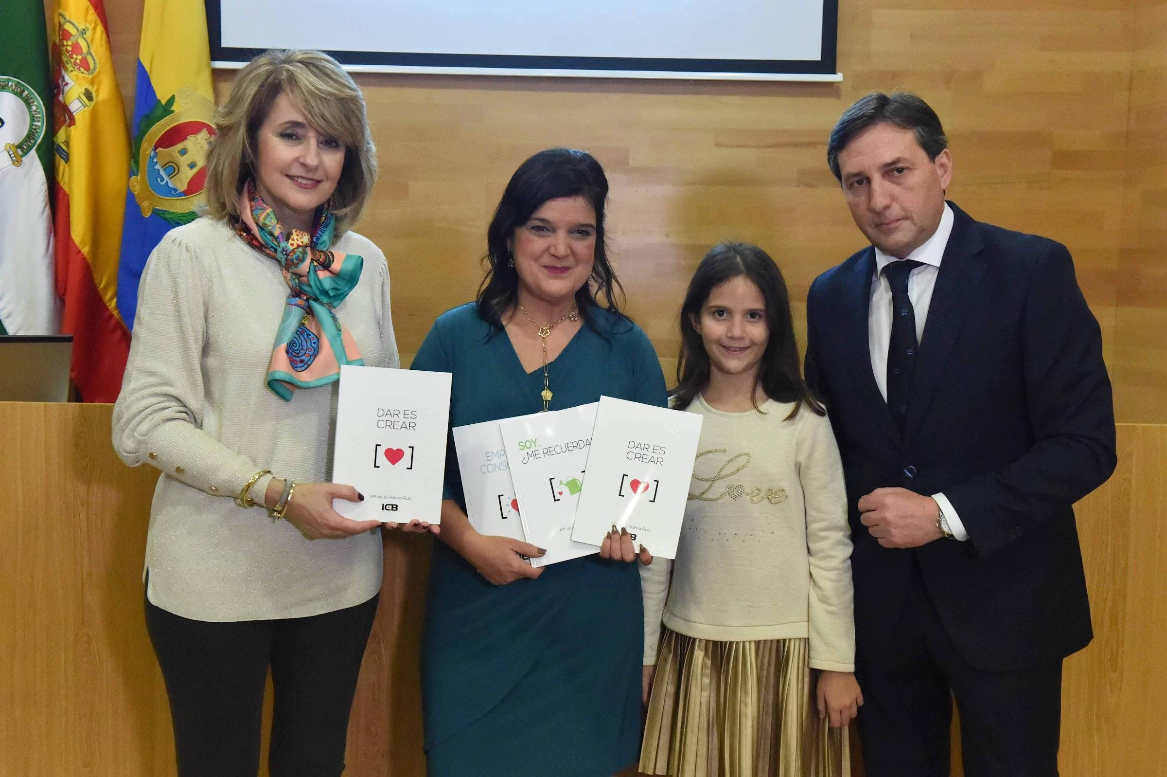 Presentado los últimos tres libros de Palma Ruiz
