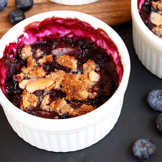 Legendary Gluten-Free Blueberry Crisp