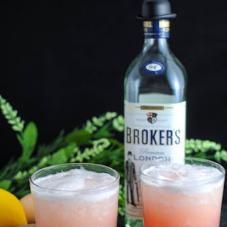 Rhubarb Sour Cocktail.