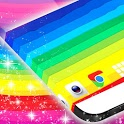 Cool Rainbow Live Wallpaper icon