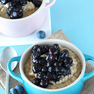 Blueberry Muffin Batter Oatmeal