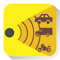 Speed radar detector icon
