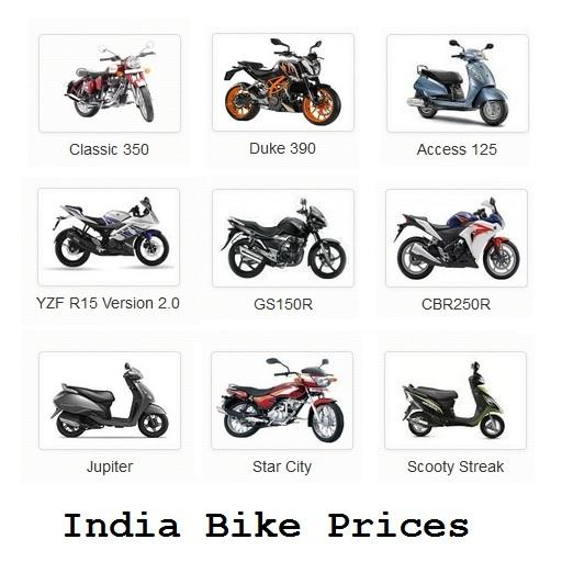 India Bikes : Price App : Reviews Colors Problems - Apps on