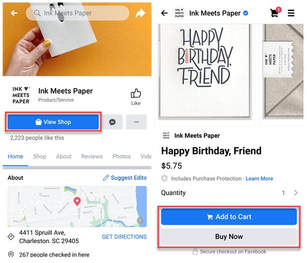 Ink Meets Paper social commerce