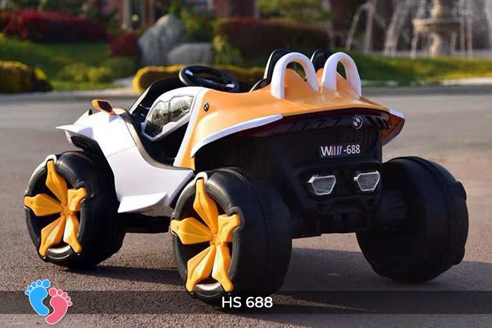 Xe ô tô điện địa hình cho bé hs-688 6