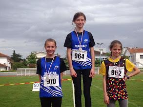 Photo: 3e 1000 m Be1 Julie BORIES