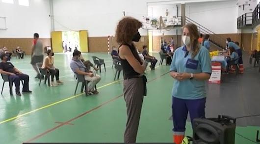 Lidia, durante su entrevista con Canal Sur.