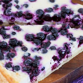 Elegant Blueberry Honey Ricotta Tart
