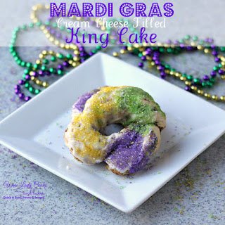 Easy Cream Cheese Filled King Cake.