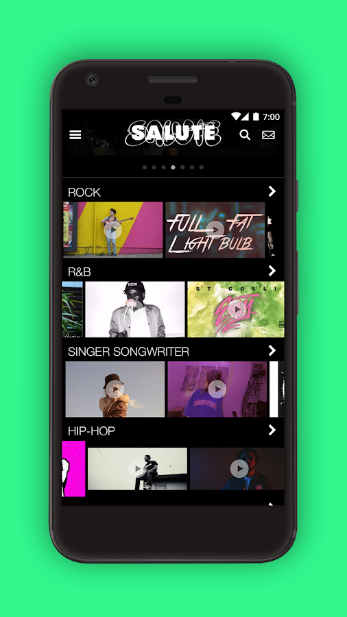 Salute Music Makers- screenshot