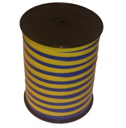 Ballongsnöre - gult och blått