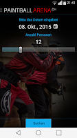 Screenshot of Paintball Arena App