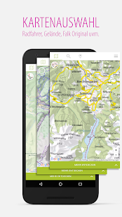 Falk Maps Routenplaner & Karte Screenshot