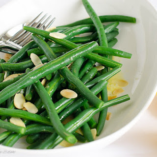 Green Bean Salad With Toasted Almonds