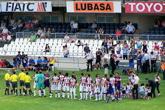 Photo: 14/06/09 v Eibar (Segunda Div) 4-0 - contributed by Gary Spooner