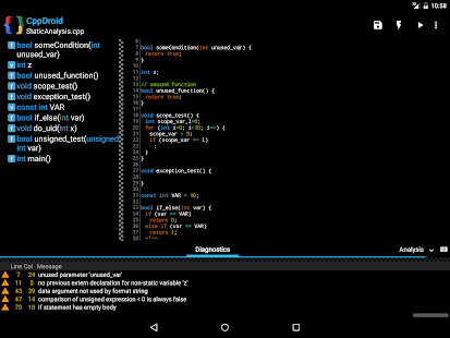 Cppdroid C C Ide Applications Android Sur Google Play
