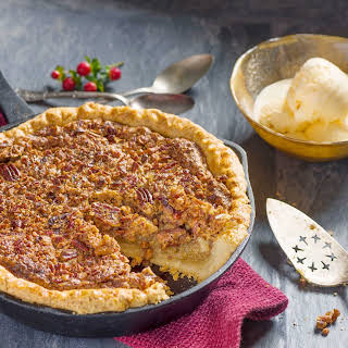 Honeyed Browned-Butter Pecan Pie.