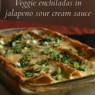 Sour Cream Sauce Vegetarian Recipes.