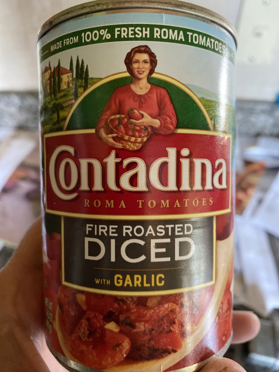 Fire Roasted Diced Tomatoes With Garlic