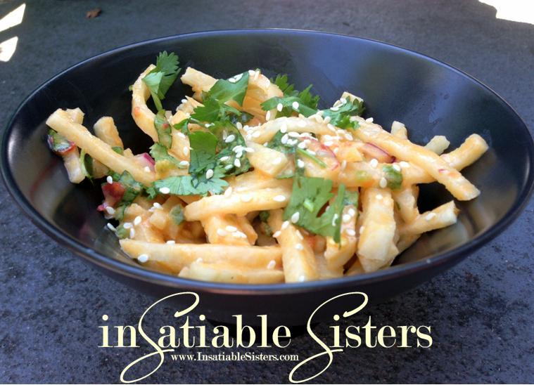 Thai Jicama Salad | Insatiable Sisters