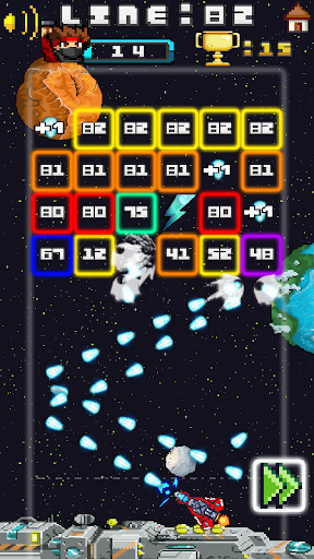 Space Blast Block Attack android2mod screenshots 7