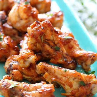 Oven Baked Jerked Chicken Wing Drummetts