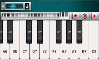 Screenshot of Piano