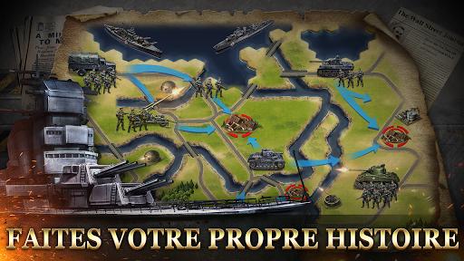 Code Triche WW2: Strategy Commander Conquer Frontline APK MOD screenshots 5