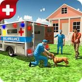 Injured Dog Rescue Simulator 3D Android APK Download Free By Fortune Studios