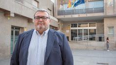 Manolo García, portavoz del PSOE en Roquetas.