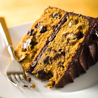 Chocolate-Pumpkin Layer Cake