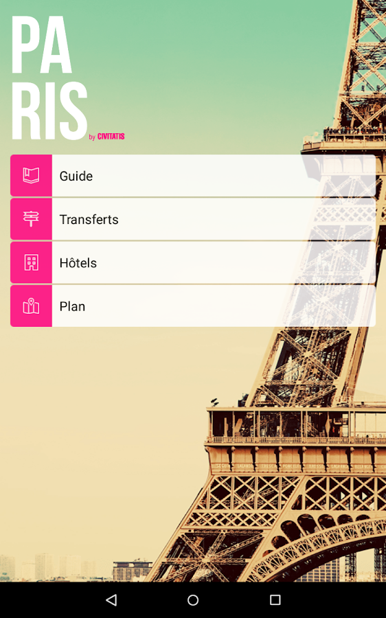 Guide Paris de Civitatis.com- screenshot
