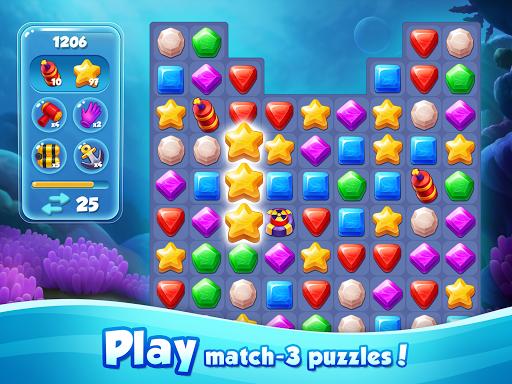 Aqua Blast: Fish Matching 3 Puzzle & Ball Blast 1.3.4 screenshots 10