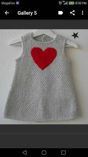 Crochet Baby Dress screenshot 2