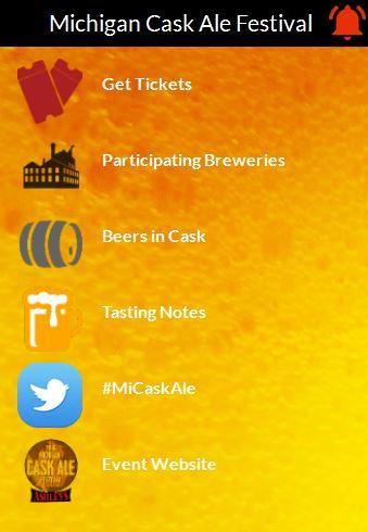 Michigan Cask Ale Festival- screenshot